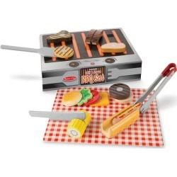 Melissa & Doug 20-pc. Wooden Grill & Serve BBQ Set found on Bargain Bro India from BeallsFlorida for $19.99