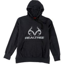 Realtree Mens Logo Antler Hoodie