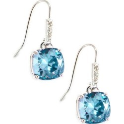 Shine Aquamarine Blue Crystal Element Drop Earrings found on Bargain Bro India from BeallsFlorida for $60.00