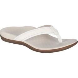 Vionic Womens Tide 2 White Sandals