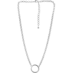 Wearable Art By Roman Silver Tone Chain Necklace
