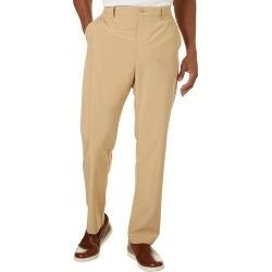 Golf America Mens Solid Flat Front Golf Pants