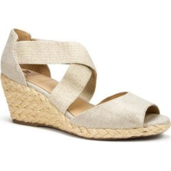 White Mountain Womens Hudlin Wedge Sandals