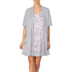 Ellen Tracy Womens Flamingo Nightgown Set found on Bargain Bro India from BeallsFlorida for $69.00