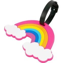 Miami Carry On Rainbow Luggage Tag