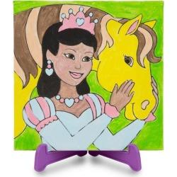 Melissa & Doug Canvas Creations Princess Painting Set