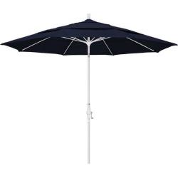 California Umbrella Sun Master 11' White Pole Umbrella