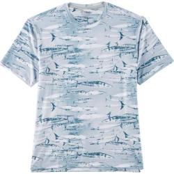 Reel Legends Mens Keep It Cool Swimming Wahoo T-Shirt