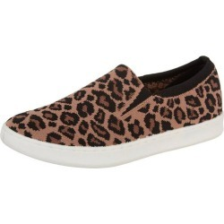 Skechers Womens Poppy Low Spot On Leopard Print Shoe found on Bargain Bro India from BeallsFlorida for $55.00