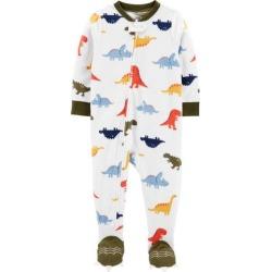 Carters Baby Boys Dinosaur Feet Snug Fit Footie Pajamas