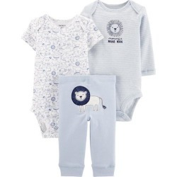 Carters Baby Boys 3-pc. Mommy's Mane Man Lion Layette Set