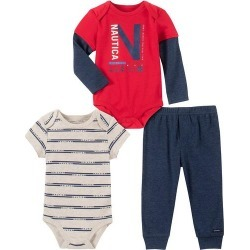 Nautica Baby Boys 3-pc. Sail Racing Clothing Set
