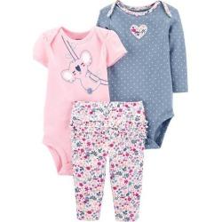 Carters Baby Girls 3-pc. Koala Layette Set