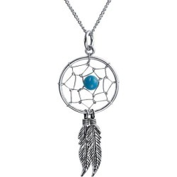 BLING Jewelry Dream Catcher Pendant Necklace