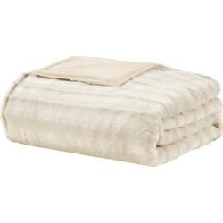 Beautyrest Duke Faux Fur 18 lb. Weighted Blanket