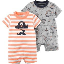 Carters Baby Boys 2-pk. Pirate Rompers