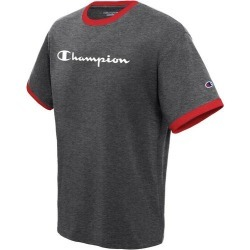 Champion Mens Jersey Ringer Logo Crew T-Shirt found on Bargain Bro India from BeallsFlorida for $20.00