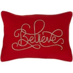 Coastal Home Believe Decorative Pillow