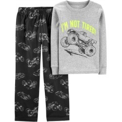 Carters Little Boys I'm Not Tired Truck Pajama Pants Set