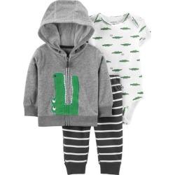 Carters Baby Boys 3-pc. Alligator Jacket Layette Set