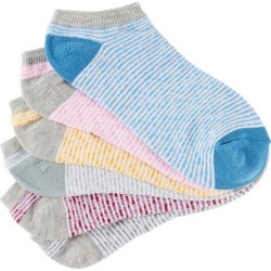 BCBG Womens 6-pk. Striped Low Cut Socks found on MODAPINS from BeallsFlorida for USD $7.97