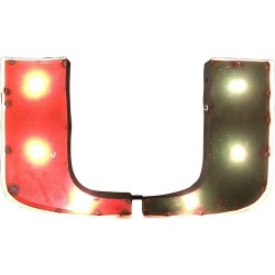 Miami Hurricanes Recycled Metal Illuminated Wall Decor found on Bargain Bro India from BeallsFlorida for $129.99