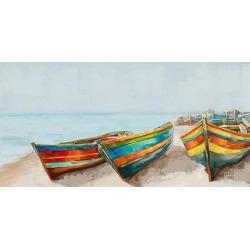 Streamline Art Romantic Floaters Canvas Wall Art
