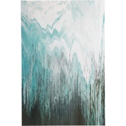 Ink & Ivy Abstract Chevron Canvas Wall Art found on Bargain Bro India from BeallsFlorida for $59.99