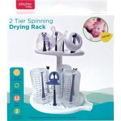 Playtex Baby 2 Tier Spinning Drying Rack