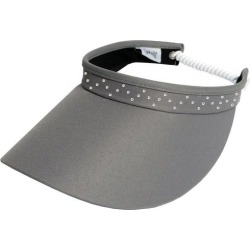 Glove It Womens Zig Zag Crystal Coil Visor found on Bargain Bro India from BeallsFlorida for $29.95