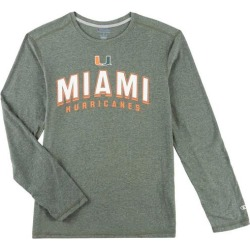 Miami Hurricanes Mens Arch Long Sleeve T-Shirt by Champion found on Bargain Bro India from BeallsFlorida for $34.00