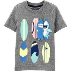 Carters Toddler Boys Surfboard Shark T-Shirt