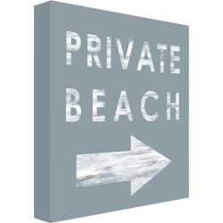 PTM Images Private Beach Wall Decor found on Bargain Bro India from BeallsFlorida for $89.99
