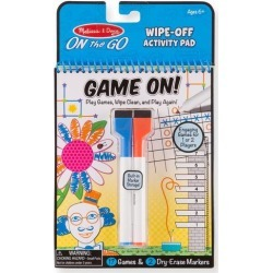 Melissa & Doug Game On! Wipe-Off Activity Pad found on GamingScroll.com from BeallsFlorida for $4.99