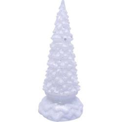 Brighten the Season Fairytale LED Snowy Tree Decor found on Bargain Bro India from BeallsFlorida for $17.99