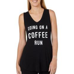 Miken Womens Going On A Coffee Run Tank Top