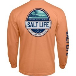 Salt Life Mens A Salty State of Mind T-Shirt found on Bargain Bro Philippines from BeallsFlorida for $26.00