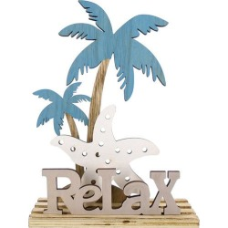 JD Yeatts Relax Palm Tree Tabletop Decor found on Bargain Bro India from BeallsFlorida for $14.99
