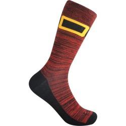 Funky Socks Mens Santa Boots Crew Socks
