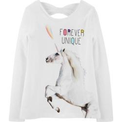 Carters Little Girls Forever Unique Long Sleeve T-Shirt