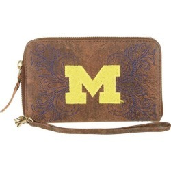 Gameday Boots Michigan Wolverines Wristlet found on Bargain Bro India from BeallsFlorida for $69.00