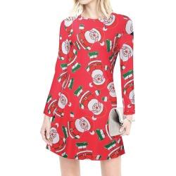 c8b9b71c5d0f Christmas Printed Mini Dress found on MODAPINS from fairyseason.com for USD   12.59