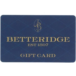 Betteridge $250 Gift Card found on Bargain Bro India from Betteridge for $250.00
