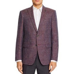 John Varvatos Star Usa Bleecker Textured Melange Weave Slim Fit Sport Coat