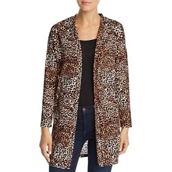 Alison Andrews Leopard Print Open Front Cardigan found on Bargain Bro Philippines from Bloomingdales Canada for $21.42