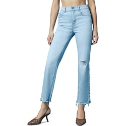 DL1961 Patti Distressed Straight Jeans in Baby Blue found on Bargain Bro India from Bloomingdale's Australia for $209.84