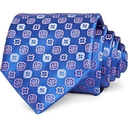 Canali Square Florette Silk Classic Tie found on MODAPINS from Bloomingdales Canada for USD $168.78