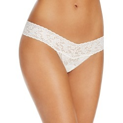 Hanky Panky Pearl & Bow Signature Lace Thong found on Bargain Bro Philippines from bloomingdales.com for $23.00