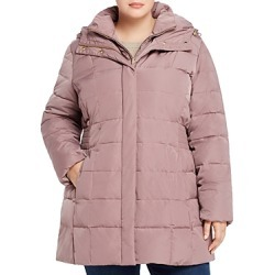 Cole Haan Plus Quilted Puffer Coat