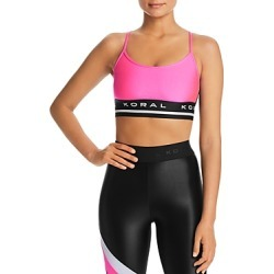 Koral Mission Mesh-Back Sports Bra found on Bargain Bro Philippines from bloomingdales.com for $76.00